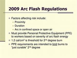 ppt reducing arc flash hazard in 3o pad mounted With arc flash rules