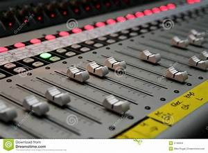Sound Board Stock Images