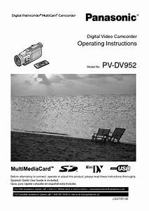 Pv-dv952 Manuals