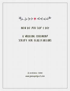 great ceremony script and a good guide to follow while With describe the wedding ceremony
