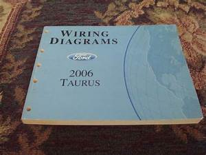 Sell 2006 Ford Taurus Service Shop Repair Electrical  Wiring Diagrams Manual Book Motorcycle In