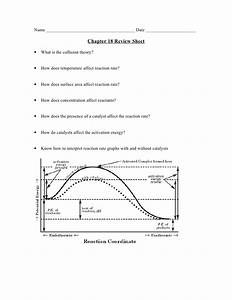 Chemistry- Chp 18 - Reaction Rates And Equilibrium