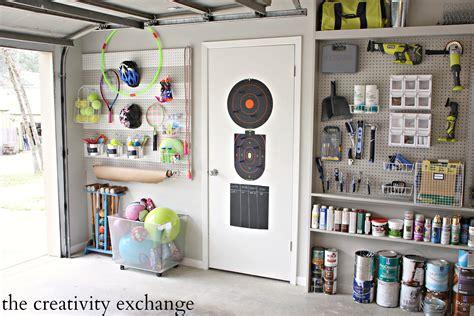 garage peg board diy garage pegboard storage for outdoor toys
