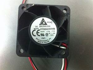 Delta Brushless Fan Ffb0424vhn 3 Wire 40x40x28mm High