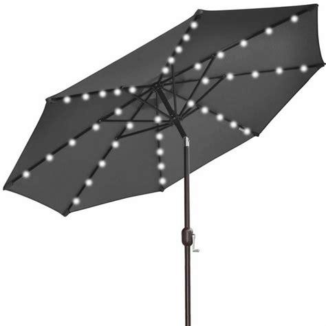 umbrella los angeles 9 solar power lighting