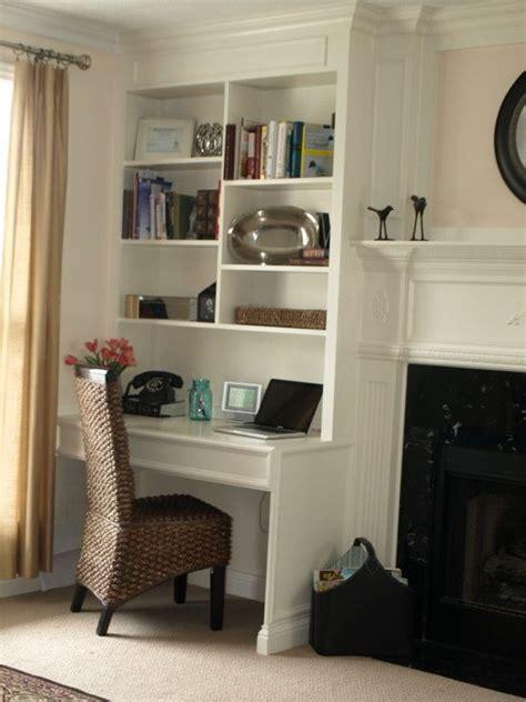 fireplace  desk area    design pictures