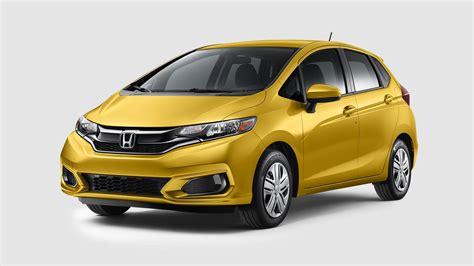 2018 Honda Fit Color Options