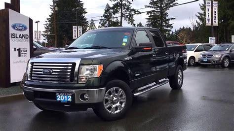 2012 F 150 Xlt by 2012 Ford F 150 Xlt Xtr V6 Supercrew 4x4 6 1 2 Foot Box