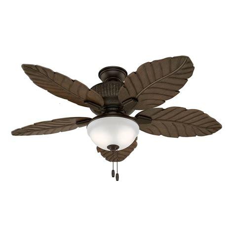 Hunt Lighting by Fan 52 Quot Outdoor Ceiling Fan With Led Light Kit