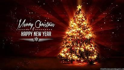 Christmas Tree Rays 1080p Desktop Trees Freechristmaswallpapers