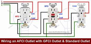 How To Wire An Afci Outlet   U2013 Arc Fault Interrupter Outlet