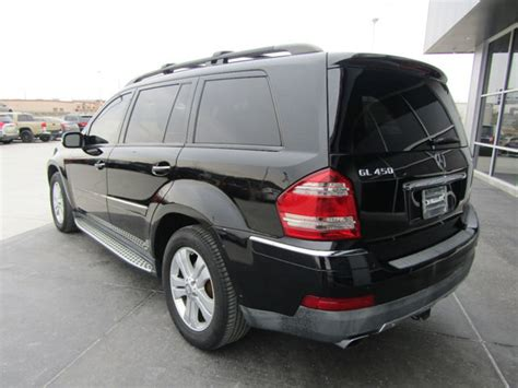 Finished in black over black leather. 2008 Used Mercedes-Benz GL-Class 450 4Matic at The ...