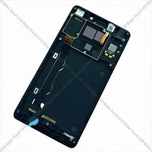 Lenovo A7000 Display And Touch Screen Glass With Frame
