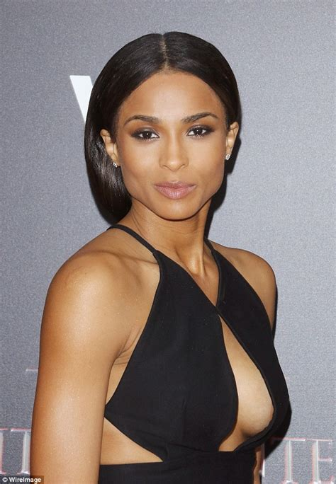ciara sexy ciara shows off cleavage and leg at the last witch hunter