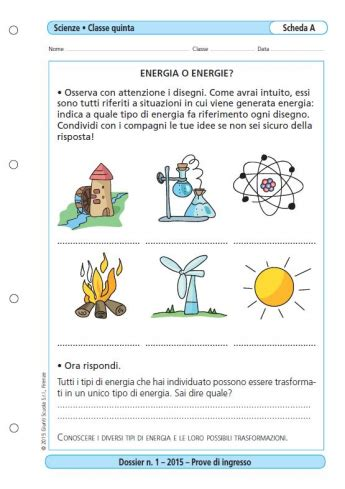 Prove Di Ingresso Scuola Primaria by Prove D Ingresso Scienze Classe 5 La Vita Scolastica