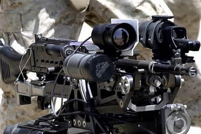 Robot Killer Dei Armas Machine Gun Wallpapers