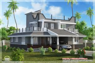 contemporary style 3 bedroom home plan kerala home design kerala house plans home decorating - Modern Style Home Plans