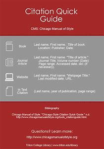 Cms  Chicago Manual Of Style
