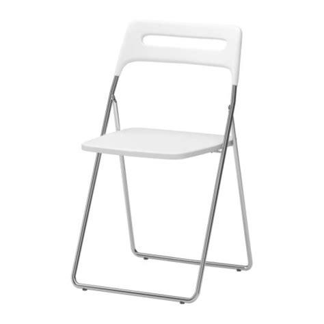 Ikea Folding Chairs White by Nisse Folding Chair Ikea