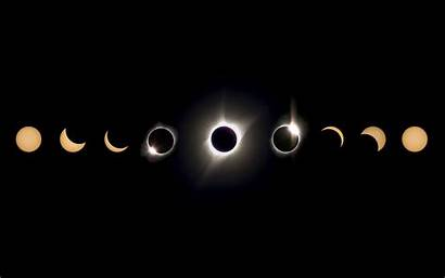 Moon Sun Eclipse Phases Wallpapers Space Lunar