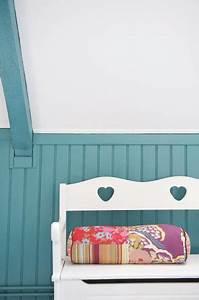 Peinture Pour Lambris : peindre lambris et meuble avec vernis relooking v33 ~ Melissatoandfro.com Idées de Décoration