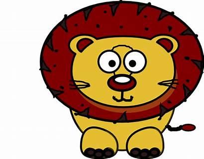 Lion Clipart Clker Clip Cartoon Vector Rhino