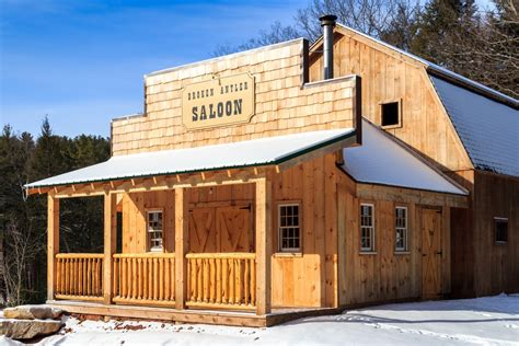 Backyard Saloon by Western Saloons Designed Built The Barn Yard Great