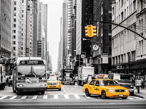 Color Pop Taxi  Nyc  All Done In Lr Just Playing