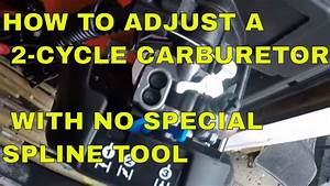 Husqvarna Weed Eater Carburetor Adjustment