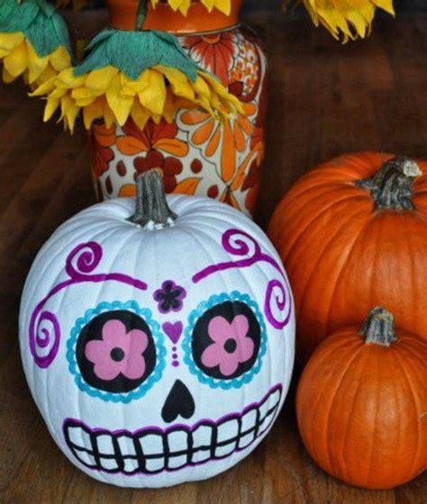 pumpkin design ideas without carving 30 no carve pumpkin ideas for halloween decoration 2017
