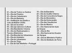 datas comemorativas mês de novembro ~ EDUCANDO COM AMOR 2013