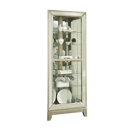 pulaski corner curio cabinet in wood accent furniture house home page 12