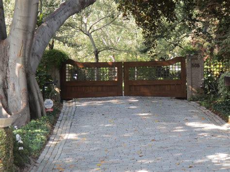 ideas  driveway entry gates entrance driveways
