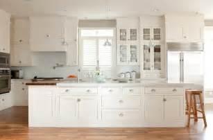 White Kitchen Glass Backsplash Kitchen Island Transitional Kitchen Ashlee Raubach Photography