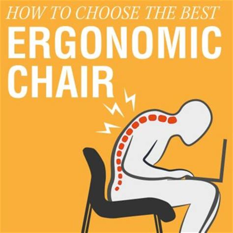 how to choose the best ergonomic office chair
