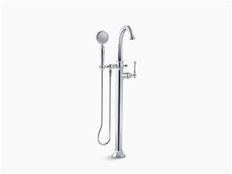 kohler kelston freestanding tub filler k t97332 4 kelston bath filler trim with handshower kohler