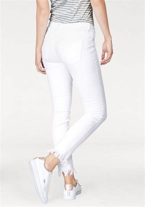 ajc slim fit jeans mit fransensaum  kaufen otto