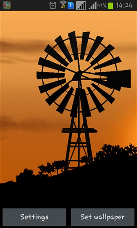 Windmill Wallpaper Animated - windmill by pix live wallpapers pour android 224 t 233 l 233 charger