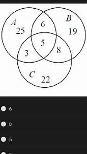 Use The Venn Diagram At The Right To Answer The Following