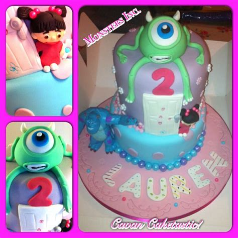 monsters  cake  boo mike sully cakes galore