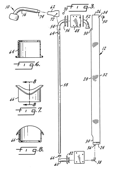 shower height patent us6470510 pullout held shower patents