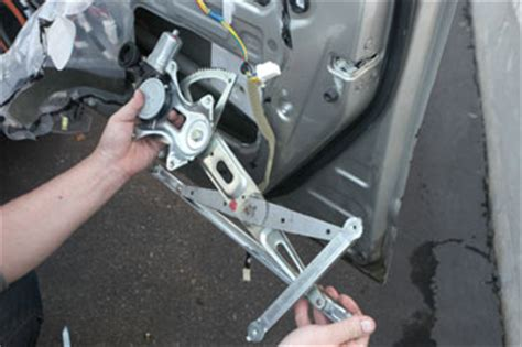 window regulator window motor   works problems