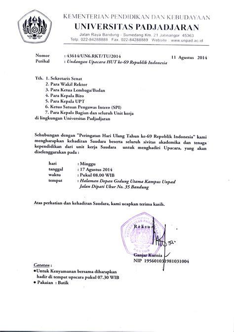 upacara hut   republik indonesia universitas padjadjaran