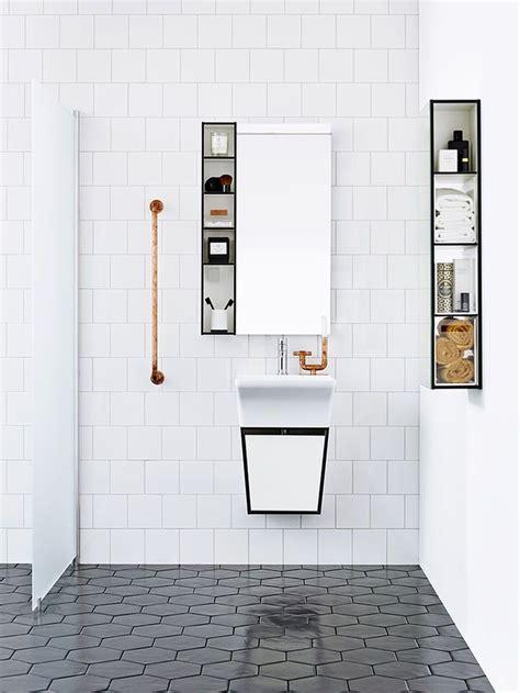 25 best ideas about hexagon tile bathroom on