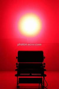 Phaton w rgbw led flood light spotlights on stage