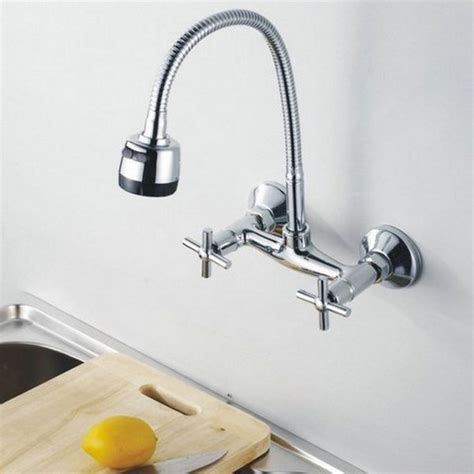 Wall Mount Kitchen Faucet With Pull Out Spray wall mount kitchen faucet with pull out spray mbois home