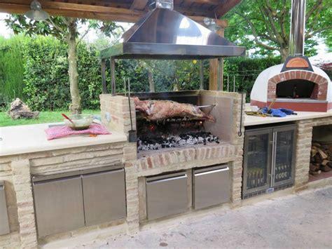 Outdoor Küche Kochen Im Garten