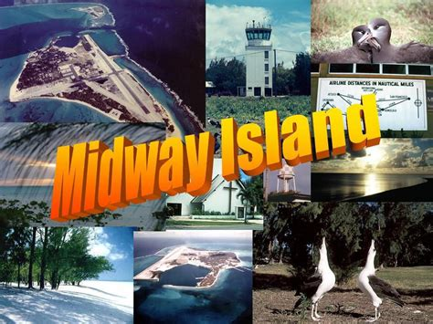 North Pacific Midway Island