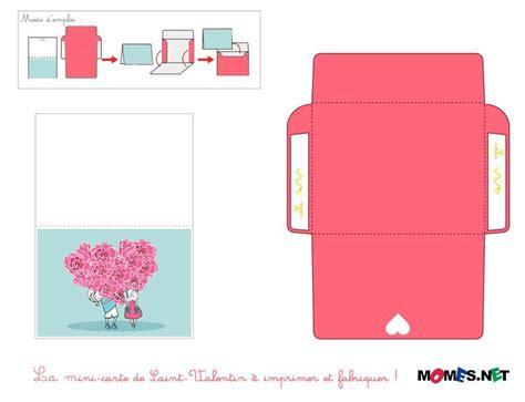 Carte De à Imprimer by La Carte Valentin Momes Net