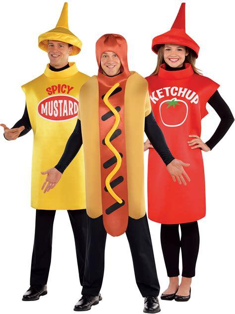 couple hot dog costume adults american food costume hot dog sauce fancy dress